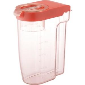 【LIBERALISTA】可冷藏多功能收納保鮮儲米罐 - 紅色