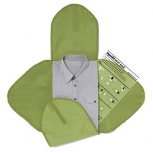 Lapoche 襯衫收納攜型袋-綠色