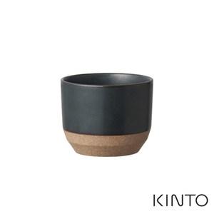 日本KINTO CERAMIC LAB茶杯180ml - 共兩色黑