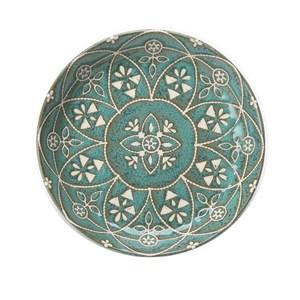 日本摩洛哥風盤14cm 綠