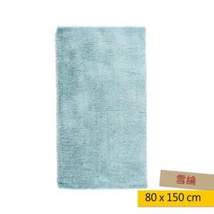 HOLA 雪綸防蟎抗菌地毯 80x150cm 綠色