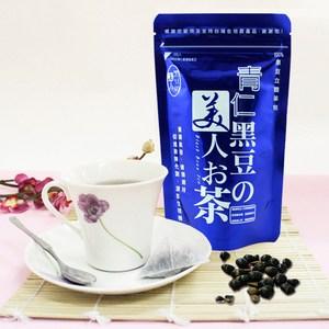 【那魯灣】台灣無毒黑豆美人茶12袋(含運價/10gX10小包/袋青仁 12袋(1