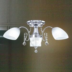 YPHOME 低調奢華風臥室半吸頂3燈 S82183H
