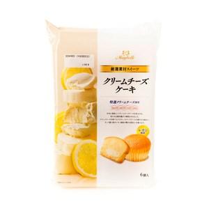 日本 丸中 奶油起士蛋糕 6入
