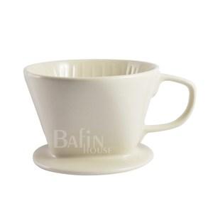 【Bafin House】Welead 102 陶瓷咖啡濾杯 2-4人份(白)