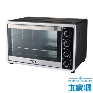 大家源專業雙溫控旋風電烤箱 45L