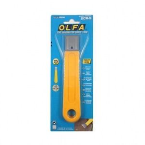 日本OLFA不鏽鋼刮刀SCR-S不銹鋼鐵爪刮刀