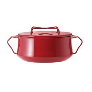 fujidinos-《Kobenstyle》琺瑯雙耳燉煮鍋(紅色)