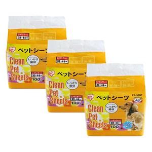 【IRIS】日本 Ag+花香抗菌尿布墊S號(ES-100F) X 3包