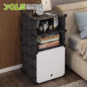【YOLE悠樂居】隨心DIY百變組合置物櫃-1列3層(A-1)