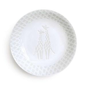 Natural69 波佐見燒 ZUPA White系列 甜點盤 15cm 長頸鹿