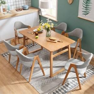 【YFS】安妮德餐椅-50x53x83cm(五色可選)綠布+洗白