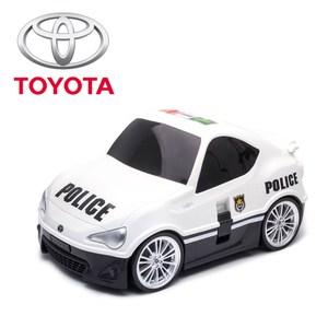 【nicegoods】RIDAZ原廠跑車兒童行李箱-白色Toyota 86