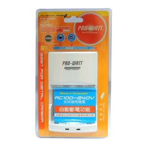PRO-WATT智慧型快速充電器 萬國電壓PW1236-0