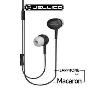 JELLICO 黑 X6S 音符系列線控入耳式耳機