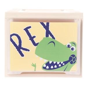 HOLA 迪士尼系列 Toy Story 單層堆疊抽屜櫃 寬27cm 抱抱龍 Rex