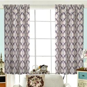 【三房兩廳】藍色古拉城遮光窗簾-300X210cm