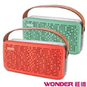 旺德 WS-T021U 藍牙隨身音響  TF記憶卡/USB插座橘