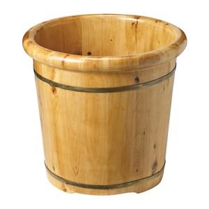 養生香柏木泡腳桶(厚邊) 41x41x40cm