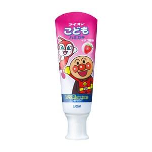 日本獅王麵包超人牙膏-草莓40gX10