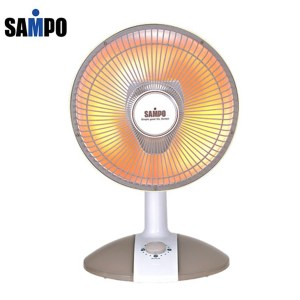 SAMPO聲寶10吋桌上型紅外線電暖器 HX-FB10F/HX-FA10F