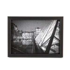 HOLA 壁掛/桌立兩用相框黑色 5x7