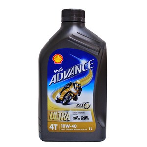 殼牌 SHELL ADVANCE ULTRA 4T 10W40