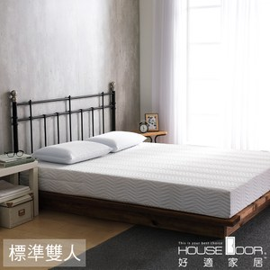 House Door 緹花正反兩用20cm釋壓記憶床組-雙人5尺