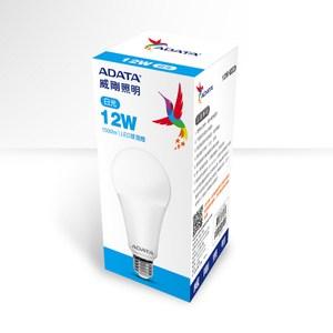 ADATA威剛 12W 高效能LED球泡燈-白光(6入)AL-BUA22C2-12W65C