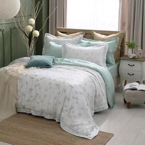 MONTAGUT優雅銀杏100%萊賽爾纖維天絲被套床包組(雙人)