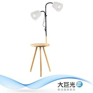 【大巨光】現代風2燈立地燈(BM-22213)