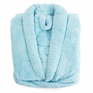 Lovel 7倍強效吸水抗菌超細纖維浴袍(粉末藍)