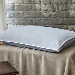 【BBL Premium】100%純棉舒適枕巾乙對(柔霧藍)