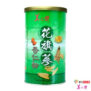 美人計-花旗蔘杏仁粉1罐(600g/罐)