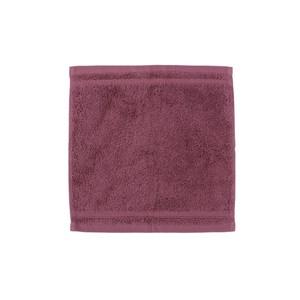HOLA 埃及棉方巾 紫紅30x30cm