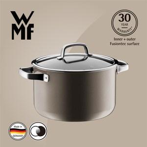 【WMF】Fusiontec 高身湯鍋 24cm 6.4L(棕銅色)