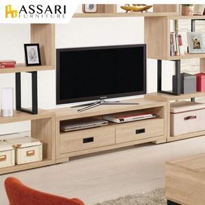 ASSARI-艾爾莎4尺電視櫃(寬120x深35x高40cm)