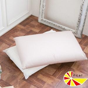 【凱蕾絲帝】馬來西亞進口成人麵包型乳膠枕(2入)