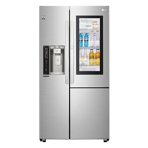 LG 樂金761公升敲敲看門中門冰箱 GR-QPL88SV
