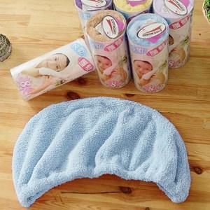 【米夢家居】水乾乾SUMEASY開纖吸水紗-快乾護髮浴帽(藍+紫)