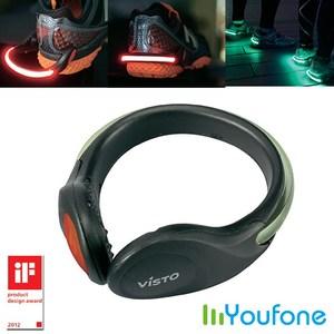 【Youfone】LED夜間運動守護天使/鞋環(一雙)