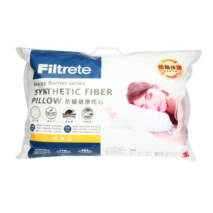 3M Filtrete 淨呼吸健康防蟎枕心-標準型