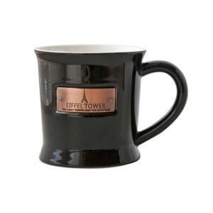 JH艾菲爾馬克杯造型盆 黑