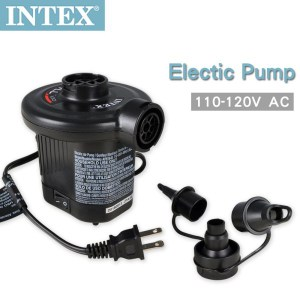 【INTEX】110V家用電動充氣幫浦(充洩二用) (66619E)