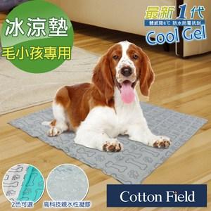 棉花田【Bone Bone】極致酷涼多功能寵物涼墊-2色可選水綠色