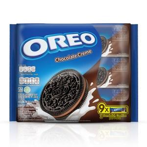 OREO 奧利奧巧克力口味夾心餅乾(9x28.5g)x12入 箱購