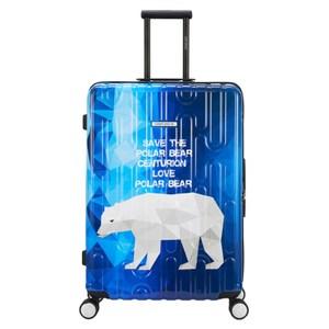 【CENTURION百夫長】拉鍊款29吋U_C79北極熊行李箱