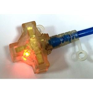 朝日防雷2P3插動力軟線附燈3m