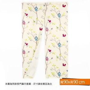 童繪森林印花防蹣抗菌短門簾 90x90cm