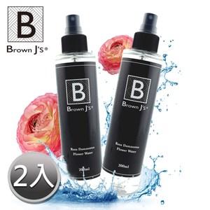 【Brown J's】大馬士革玫瑰植萃純露 水嫩保濕補水(200ml)兩入組